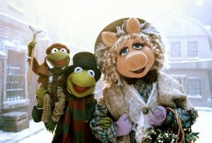 Muppet Christmas Carol picture of the Cratchets