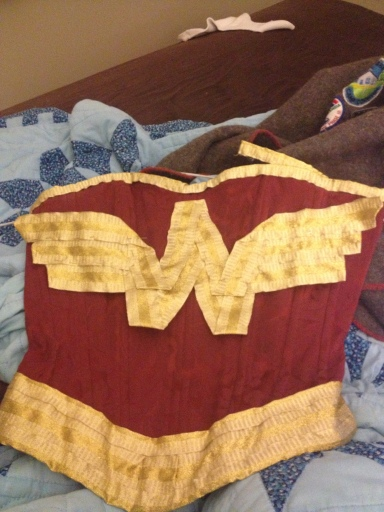 Wonder Woman Corset